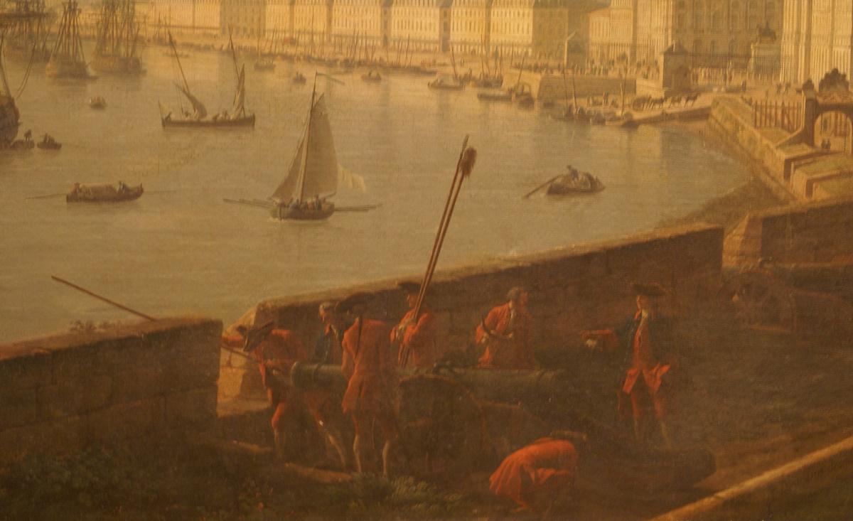 Vues du port de bordeaux par joseph vernet - Joseph vernet le port de bordeaux ...
